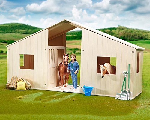 BREYER HILLTOP STABLE ♦ SOLID HARDWOOD STALL ♦ 2 PACK