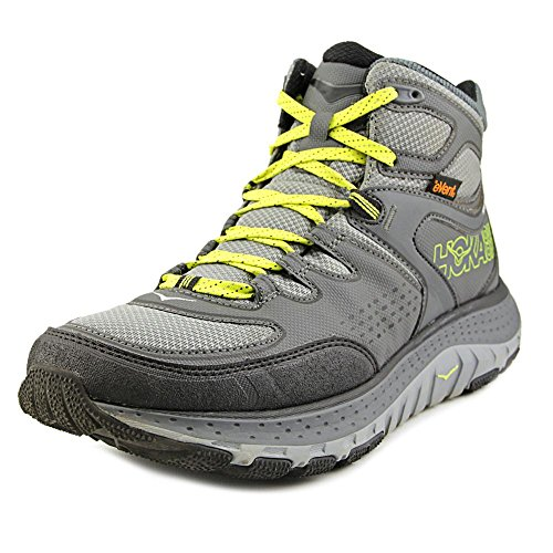 HOKA ONE ONE Mens Tor Tech Mid Waterproof Grey/Acid Boot - 11 from HOKA ONE ONE
