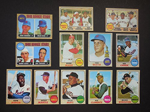1968 Baseball Cards Lot For Sale Only 3 Left At 60