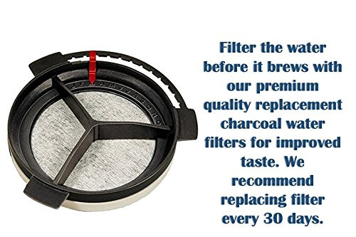 Premium Replacement Charcoal Water Filter Disk for Mr. Coffee Machines (24) by Premium Filters Direct (Image #2)