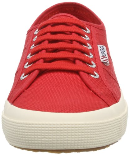 Superga 2750 Cotu Classic S000010, Zapatillas Unisex Adulto Rojo (Red)