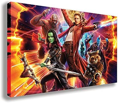 Guardians Of The Galaxy Stretched Canvas Wall Art ~ More Size