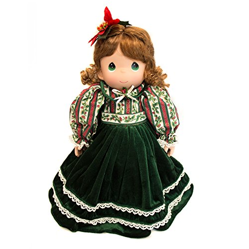(Precious Moments Collectible Plush Christmas Doll with Stocking)