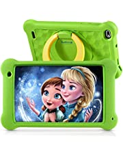 $69 » Surfans Kids Tablet, 7 inch IPS FHD Display, 2GB RAM, 32GB ROM, WiFi Android Tablets for Kids with Kids-Proof Case, Green