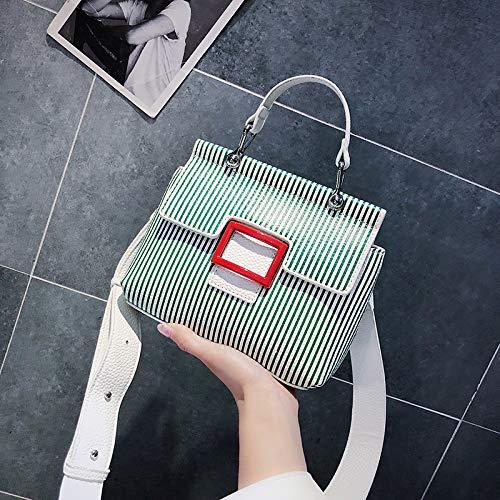 Sac la marée d'été Mode à Main Version WSLMHH Messenger Paquet coréenne Sac Sauvage Petit Bag bandoulière de Vert ROXHwxq