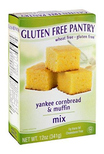 Glutino Gluten Free Flour (Glutino Gluten Free Pantry Yankee Cornbread Mix, 12-Ounce Boxes (Pack of 6))