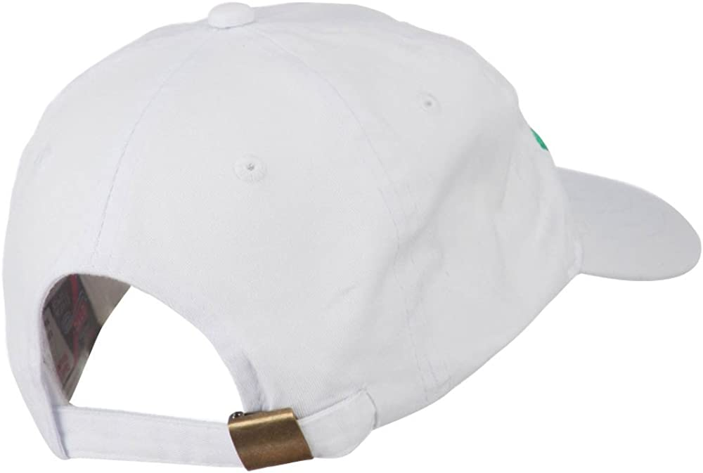 e4Hats.com Irish Embroidered Washed Pigment Dyed Cap
