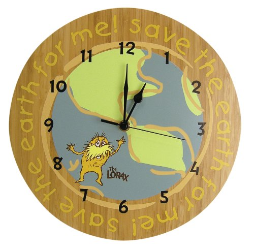 The Lorax Wall Clock,