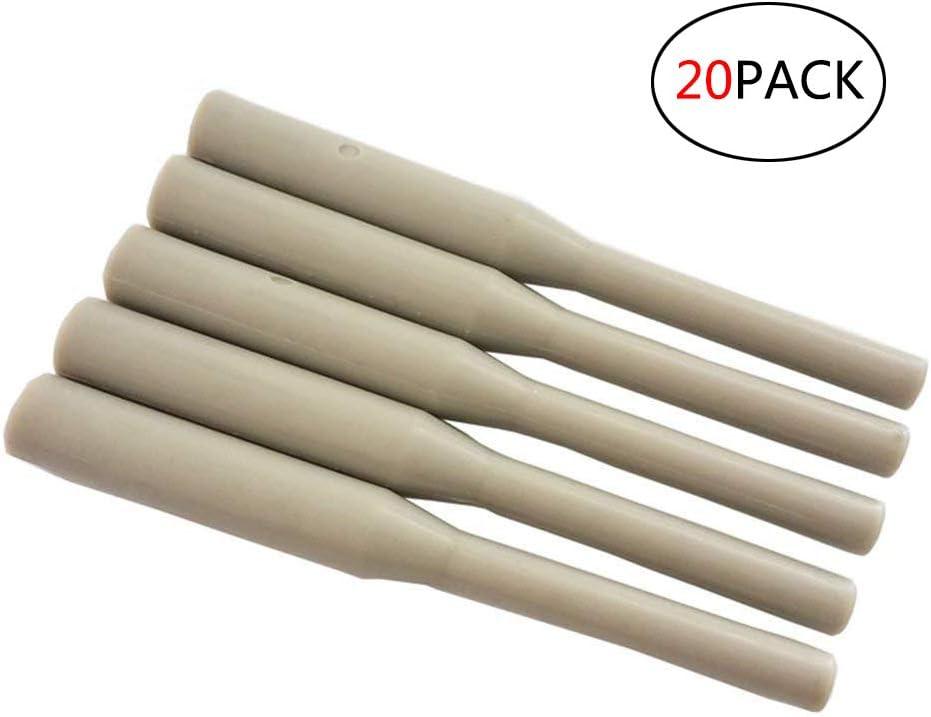 11 Mm Materiale Colla Stick PPR 20PACK,Gray BOFEISI Utensili Per Riparazione Tubi In Plastica Saldatura Tubi Idraulici Alluminio Riparazione Perdite E Fessure PE//PPR // Pb//PVC 7 Mm