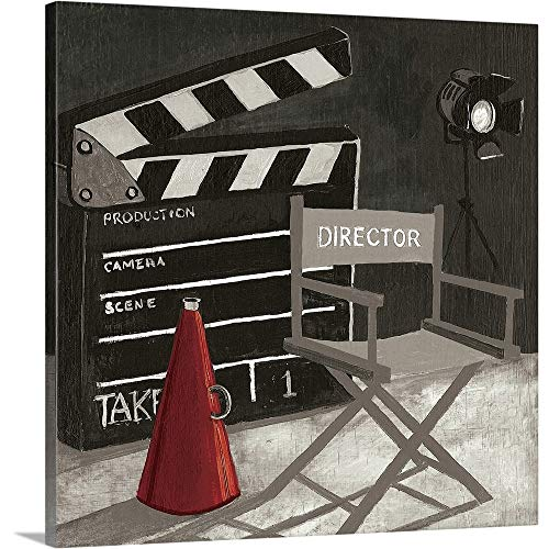 Gregory Gorham Premium Thick-Wrap Canvas Wall Art Print entitled Film III 30