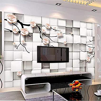 Amazon Com Lifme Custom Wallpaper 3d Photo Murals Elegant Plum