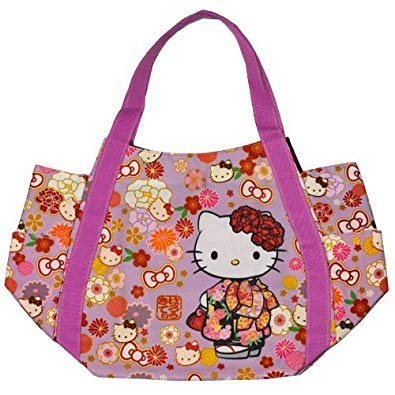 BLY Hello Kitty Balloon Bag Japanese Design (Kimono & Flower) 4025 from Japan