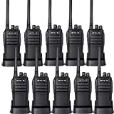 Retevis RT21 Updated Walkie Talkies 3000mAh Two Weeks Long Standby UHF 16CH 2 Way Radio VOX Two Way Radios(10 Pack)