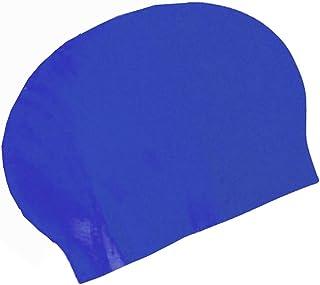 Visiodirect Bonnet de Bain en Latex Coloris Bleu -Taille Unique