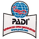 padi advanced open water - PADI Advanced Open Water Diver Patch