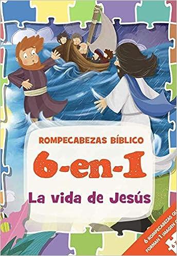 ROMPECABEZAS BIBLICO 6 EN 1 LA VIDA DE J
