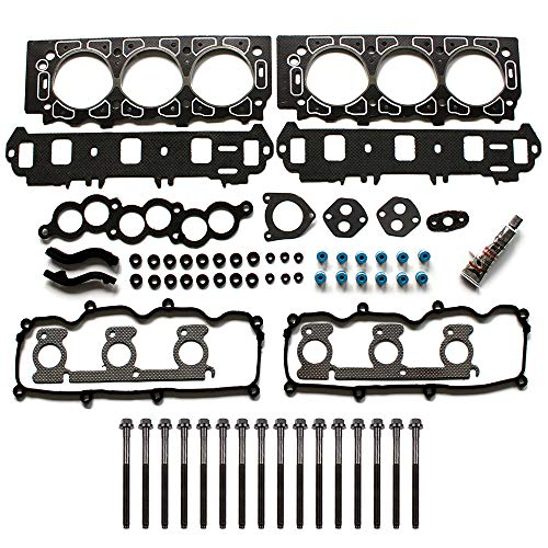 ROADFAR Head Gasket Bolts Set Kit for Ford Taurus Windstar 99 00 HS9885PT4