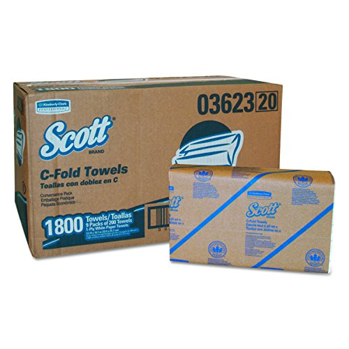 Scott C-fold Paper Towels - 4