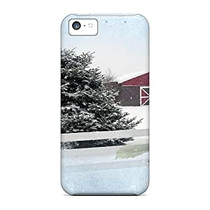 Excellent Design Our Winter Barn Phone Case For iPhone 6 plus 5.5 Premium Tpu Case