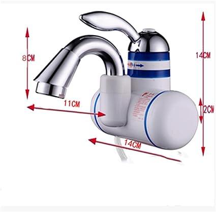 Grifo Calentado InstantáNeamente Dos Estilos Calentador EléCtrico De Agua Cocina Calentador InstantáNeo De Agua Caliente Grifo