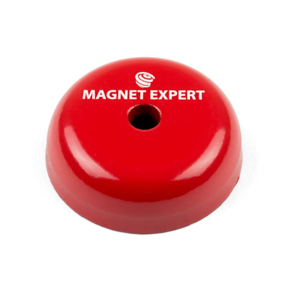 1.8kg Pull Pack of 1 Magnet Expert/® 19mm dia x 12.7mm thick Alnico Button Magnet c//w 5mm dia central hole
