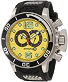Invicta Men's 6914 Corduba Collection Interceptor Chronograph Black Polyurethane Watch