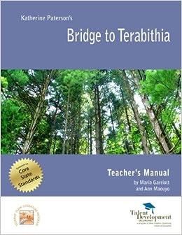 Amazon com: Bridge to Terabithia Teacher's Manual