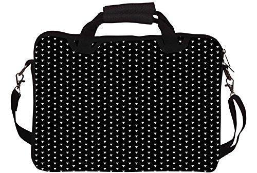 Snoogg Hipster Fall Gedruckt Notebook-Tasche mit Schultergurt 15 bis 15,6 Zoll