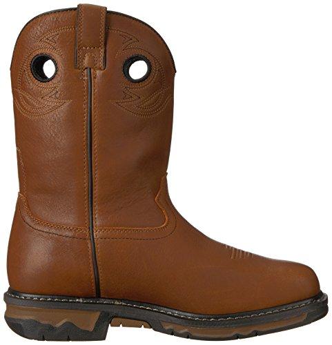 Dark Georgia Boot Brown GB00160 Calf Mid 8InUxI