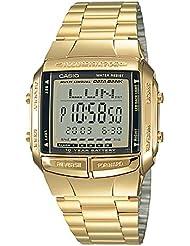 DB360G-1D Casio Gold & Black Digital Watch - Gold / One Size