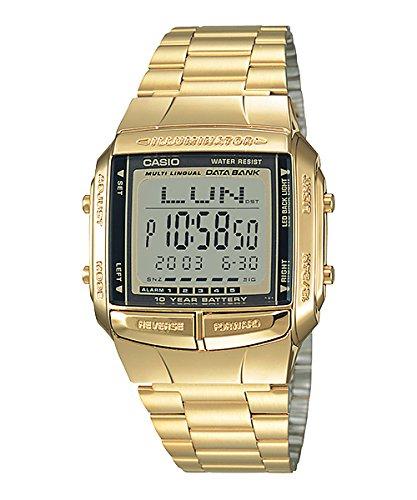db360g-1d – Reloj digital CASIO Oro & Negro Color Dorado Talla Única