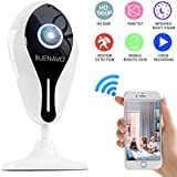 [UPGRADED] BUENAVO 960P Home Security Camera Wireless IP Camera Two-Way Audio Indoor Security Surveillance System with Night Vision and Motion Detection for Baby/Pet Monitor