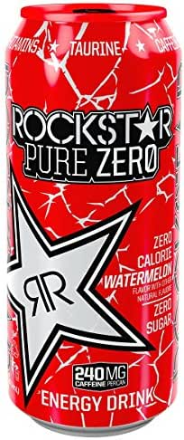 Energy & Sports Drinks: Rockstar Pure Zero