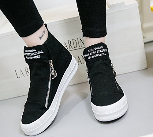 Black LIYUAN shoes Women's canvas casual nx1xqZF8f