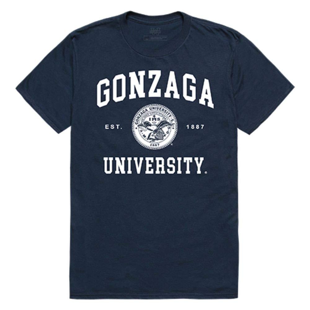 Gonzaga University Bulldogs Seal Tee T Shirt 9276