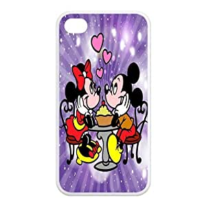 4S ,Hard For SamSung Note 3 Case Cover Mickey and Minnie Fashion Pattern Hard Back Snap on For SamSung Note 3 Case Cover (Black/white)