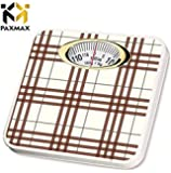 PAXMAX Deluxe Personal Weighing Scale (Mechanical 120 kg) for body weight Weighing Machine