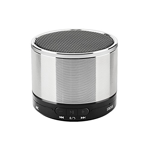 AISBR Speakers Portable Wireless Stereo Bluetooth Speaker With Handsfree 3.5 Aux and TF Card Play build in Microphone For iPhone/iPad/Android/Tablet