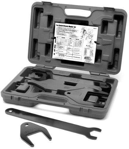 Performance Tool W89400 10-Piece Fan Clutch Wrench Set