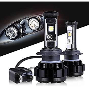 LED Headlight Bulbs H7 CREE Chips All-in-One Conversion Kit,12000 Lumen