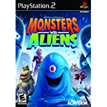 Monsters vs. Aliens - PlayStation 2