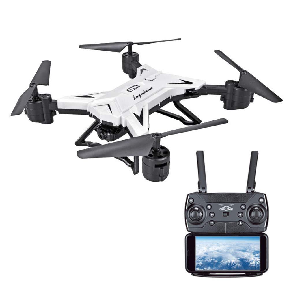 HD Drone Mini Drone, 2.4g 4 Ejes con FuncióN De RetencióN De Altitud, Control Remoto En Modo Sin Cabeza Mejor Drone para Principiantes Y NiñOs,White,640P