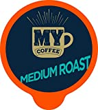 My Coffee Single Serve Coffee Pods, Medium Roast, 100 Count
