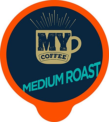 My Coffee Single Serve Coffee Pods, Medium Roast, 100 Count by My Coffee (Image #1)