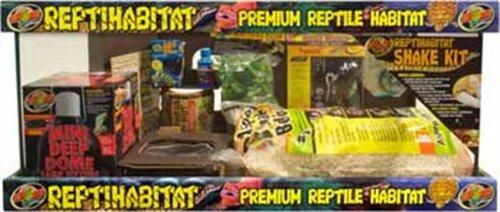 Zoo Med Laboratories SZMNTS21 Reptihabitat 20 Long Snake Starter Kit by Zoo Med