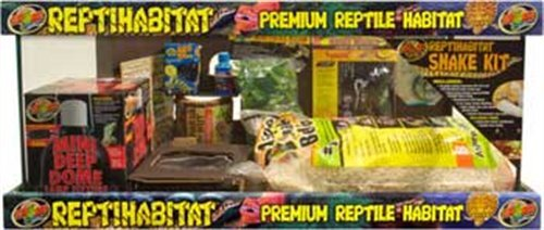 (Zoo Med Laboratories SZMNTS21 Reptihabitat 20 Long Snake Starter Kit)