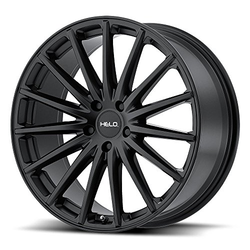 Rim Edge (Helo HE894 Satin Black Wheel with Painted Finish (17 x 7.5 inches /5 x 114 mm, 40 mm Offset))