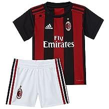 2017-2018 AC Milan Adidas Home Baby Kit