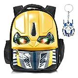 Best 3d Backpacks - Skootz 3D Waterproof Transformers Bumblebee Backpack | Flashing Review