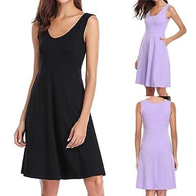 LILICAT Camisón Camisas de Noche de algodón para Mujer Vestido de ...
